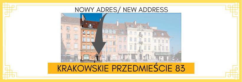 Nowy adres Chopin Point Krakowskie Przedmieście 83 (1)